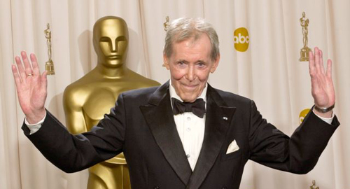 Peter OToole is seen at the 2003 Academy Awards in Los Angeles. /AP