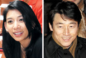 Jasmine Lee (left) and Song Ho-chang