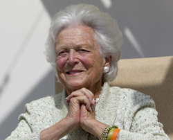 Barbara Bush (file photo) /AP