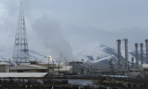 A general view of the Arak nuclear power plant, 190 km southwest of Tehran on Jan. 15, 2011. /Reuters
