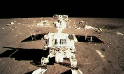 Chinas first moon rover