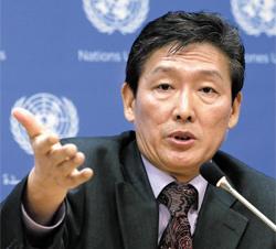 Ri Tong-il /AP-Newsis