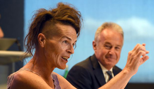 Norrie was born male and underwent gender reassignment in 1989. /AFP