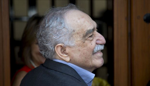 Colombian writer Gabriel Garcia Marquez /AP