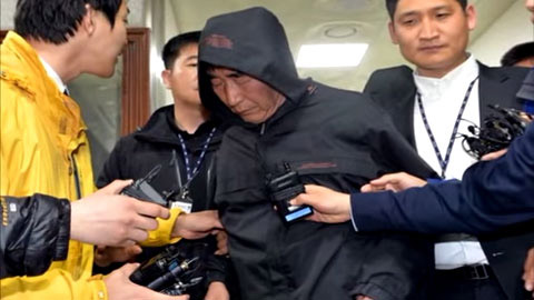 Lee Joon-seok, the captain of the Sewol, is being arrested on Saturday.