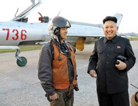 North Korean leader Kim Jong-un visits an army unit, in this photo released by the Rodong Sinmun on Tuesday.