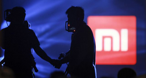 Logo of Xiaomi seen at Xiaomis tablet launch event, Beijing on May 15, 2014. /Reuters