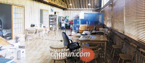 An abandoned restaurant in Suncheon, South Jeolla Province where Yoo Byung-eon, the de facto owner of Chonghaejin Marine, was hiding for several days.