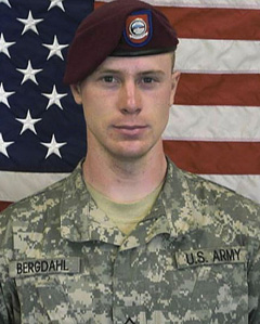 Sgt. Bowe Bergdahl in an undated image provided by the U.S. Army /AP