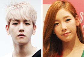 Baek-hyun (left) and Tae-yeon