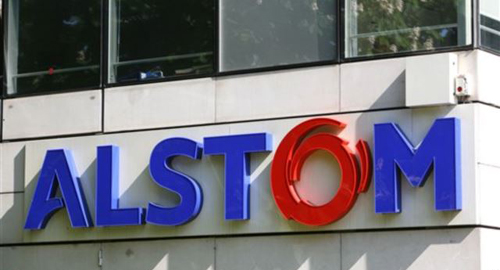 View of Alstom headquarters outside Paris. /AP