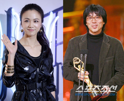 Tang Wei (left) and Kim Tae-yong