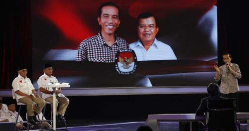 Indonesias presidential candidate Joko