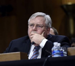 John Tefft has been named new U.S. Ambassador to Russia, Capitol Hill on July 29, 2014. /AP