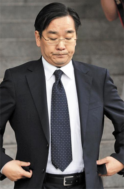 Takuya Sasayama, a minister at the Japanese Embassy in Seoul, is summoned over the countrys defense white paper to the Foreign Ministry in Seoul on Tuesday.