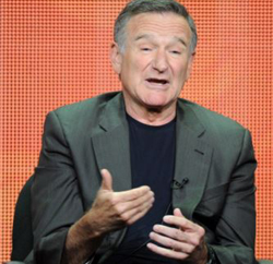Actor Robin Williams participates in the