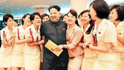 Korea Sends Performers China Chosun Ilbo