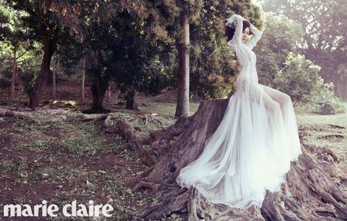 kim ha neul wedding photos