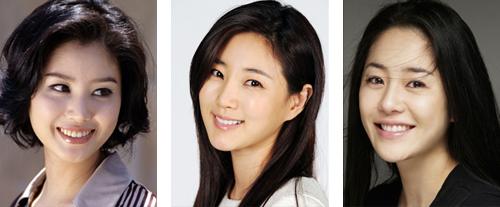 From left, Kim Sung-ryung, Kim Sa-rang and Ko Hyun-jung