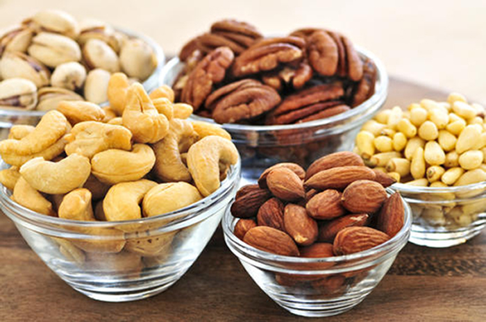 Do you eat nuts daily to stay healthy?