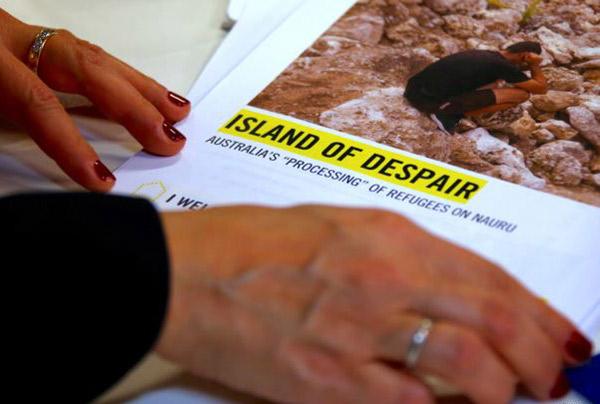 Amnesty International says Nauru refugee policy breaks international human rights laws