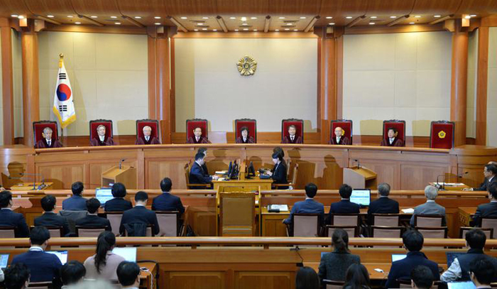 S. Korean court to rule on President Park's impeachment on Friday
