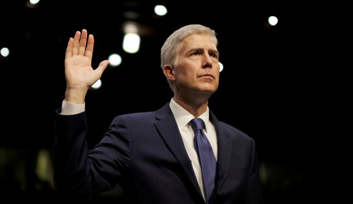 Gorsuch Full of Questions in First US Supreme Court Argument