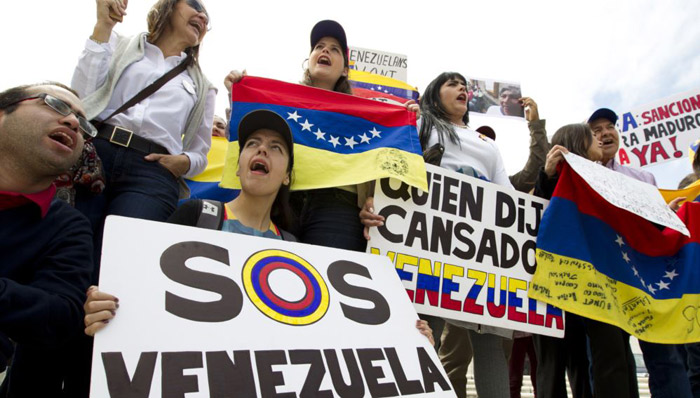 Young man is 9th fatality in Venezuela protests this month