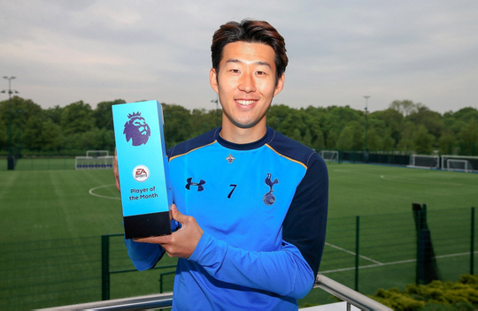 Tottenham's Son Heung-min is Premier League player of month