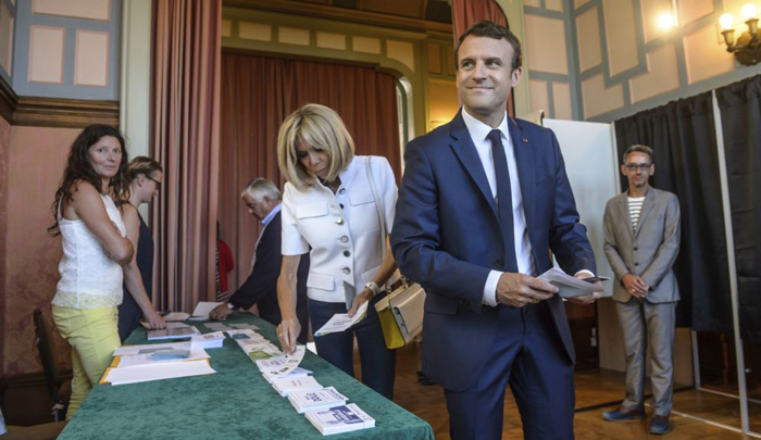 A stunning victory for Emmanuel Macron in the French Parliament election