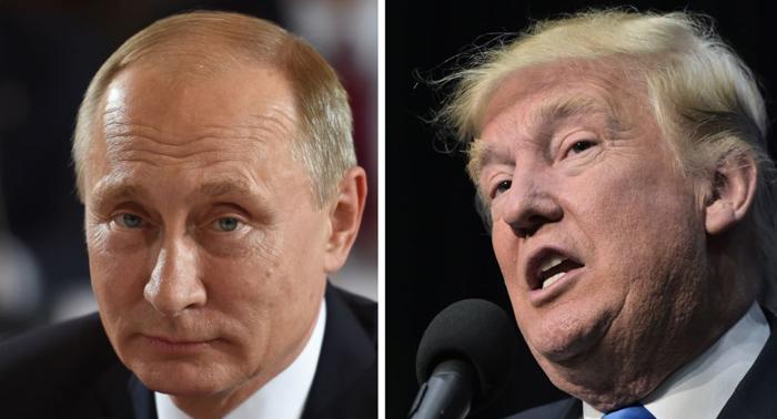 President Trump blames former President Obama for Russian meddling