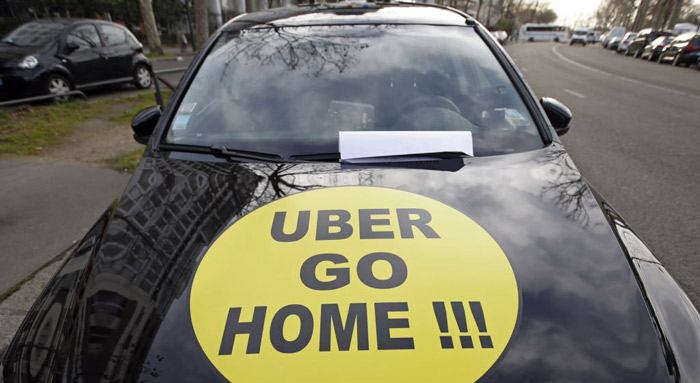 EU Says France Can Fine Uber