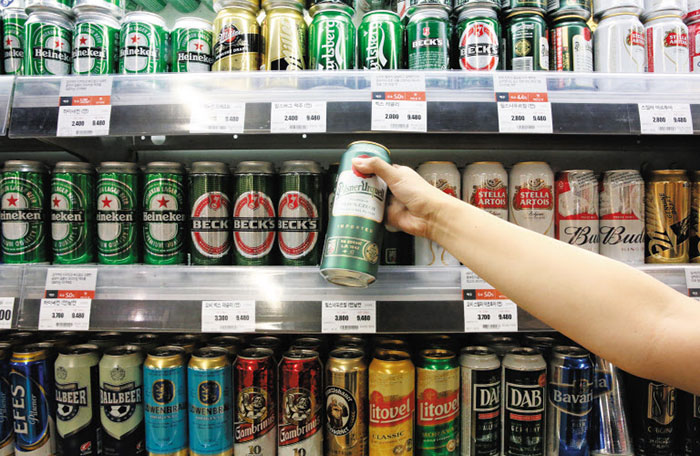 Beer takes top spot among alcohol imports the chosun for Japan craft beer association