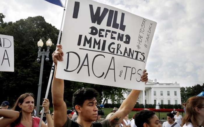 Trump says DACA recipients should not worry about status
