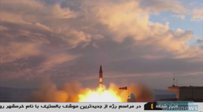 Iran launches ballistic missile to slap Trump in face over UN speech