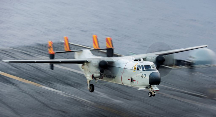 Search Continues For Missing Sailors After Navy Plane Crash In Philippine Sea