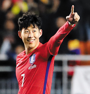 Son heung min named top footballer of the year the for Son heung min squadre attuali