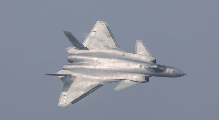 Get used to air force drills: China