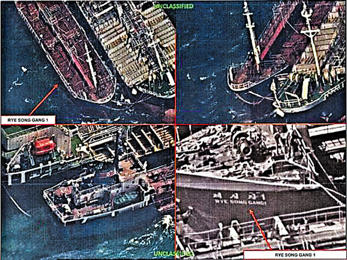 Russian tankers fueled North Korea via transfers at sea