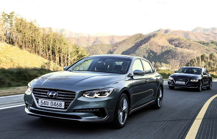 Hyundai Grandeur Tops Domestic Car Sales The Chosun Ilbo English