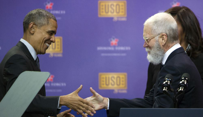 David Letterman Makes Chat Show Comeback With Obama Interview