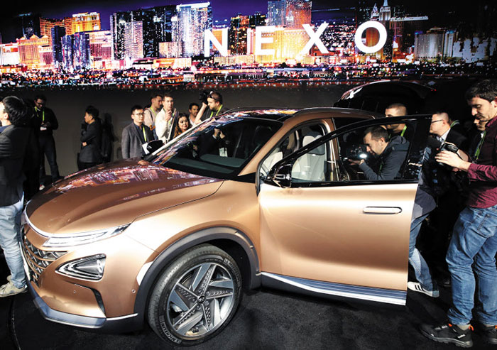 Hyundai Shows Next-gen Fuel Cell at CES