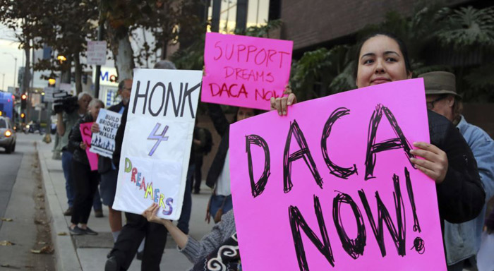 Blaming Dems, Trump Says DACA Deal Likely 'Dead'