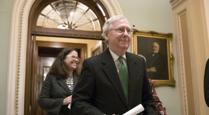 Senate Leaders Reveal Spending Deal As Shutdown Looms