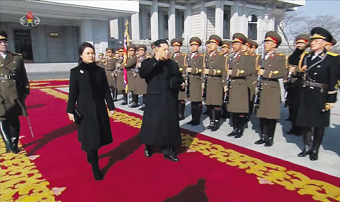 Moon watches concert with Kim Jong Un's sister