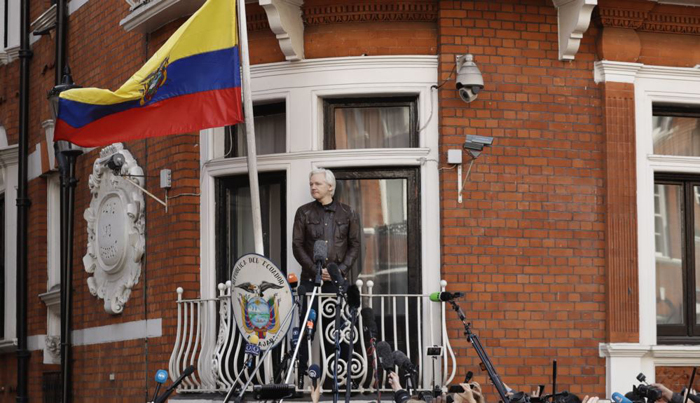 Judge Upholds Warrant for Julian Assange's Arrest