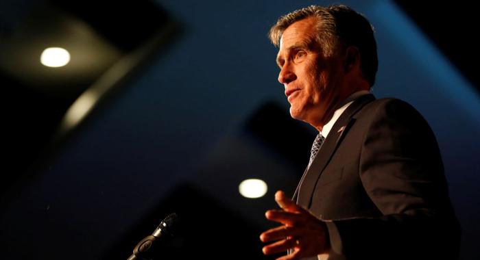 President Donald Trump endorses Mitt Romney in Utah Senate race