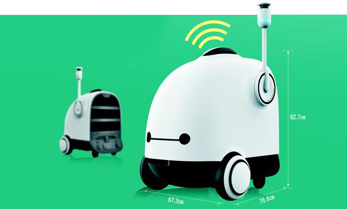 Autonome Lieferbot Dilly