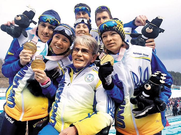Ukrainian Paralympic team comes home