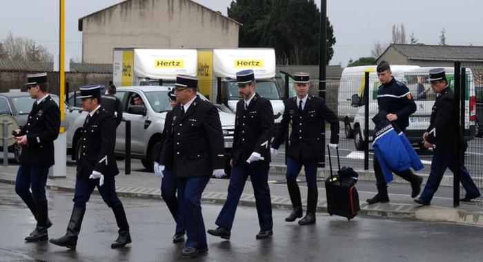 Emmanuel Macron hails 'grandeur' of officer who died to save jihadist's hostage